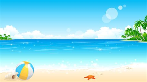 Wallpaper Cartoon Beach | cartoon beach wallpaper 20901 wallpaper computer best
