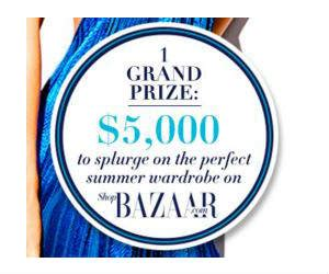 Harper S Bazaar Sweepstakes - win a 5 000 shopbazaar credit from harper s bazaar free sweepstakes contests