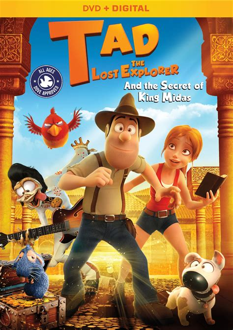 tad the lost explorer and the secret of king midas tad the lost explorer home release info nothing but