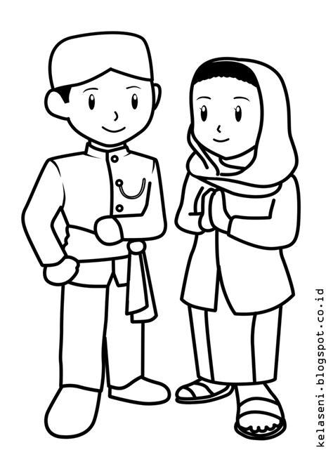 Gambar Untuk Mewarnai Baju Adat