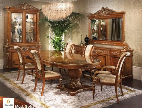 Classic Dining Room Furniture Classic Furniture For Dining Room Classic Inlaid Table Idfdesign