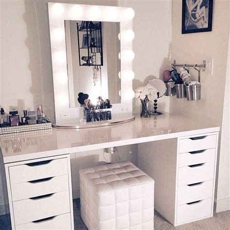 Ikea Kitchen Island Ideas white makeup vanity ikea
