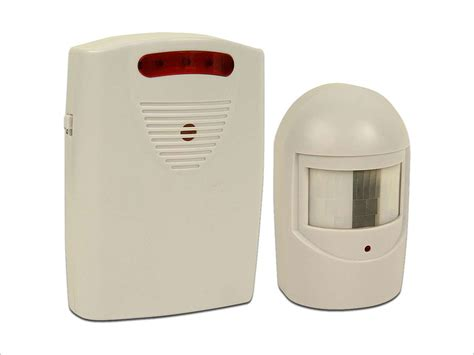 driveway patrol infrared wireless home security alarm