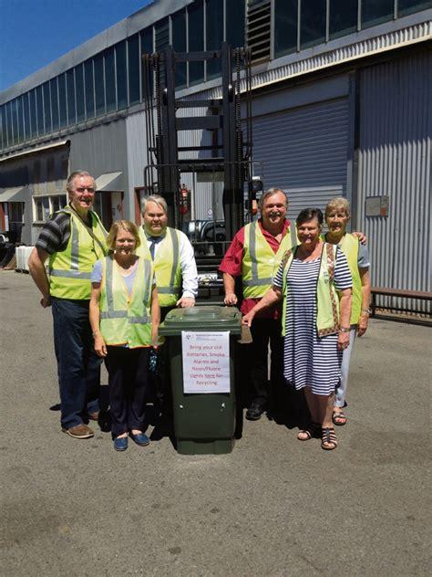 park farmers market recycling program recovers