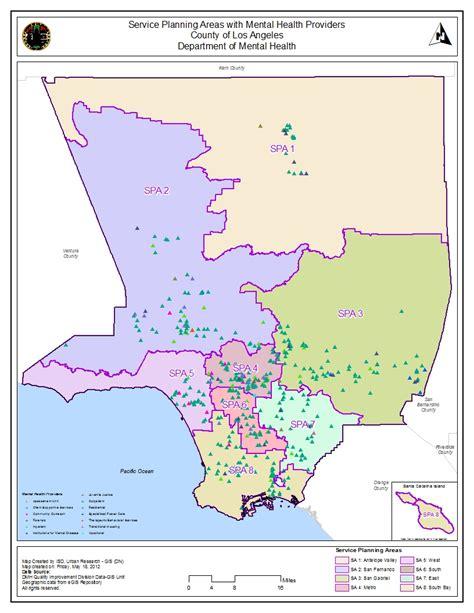 La County Records Mental Health Providers Los Angeles County Gis Data Portal