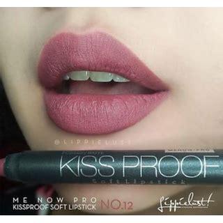 Menow Proof No 08 Matte menow proof crayon lipstick moff shade 1 water proof