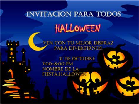 imagenes de halloween para invitaciones invitaciones para halloween