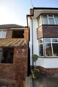 can i get a 3 bedroom council house couple s fury as 4ft gap between houses is completely swallowed by building work next door