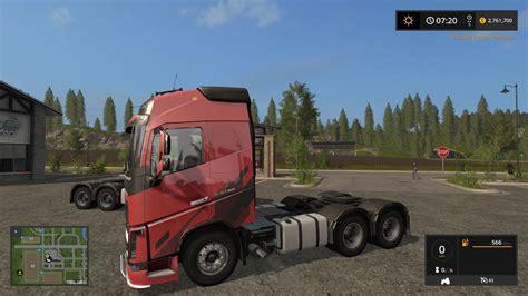 volvo fh  ocean race  trucks farming simulator  mod fs  mod