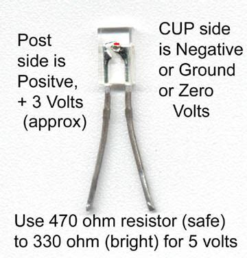 led diode plus minus index of howto