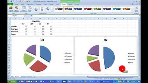 how to draw doodle using excel how to draw a simple pie chart in excel 2010 doovi
