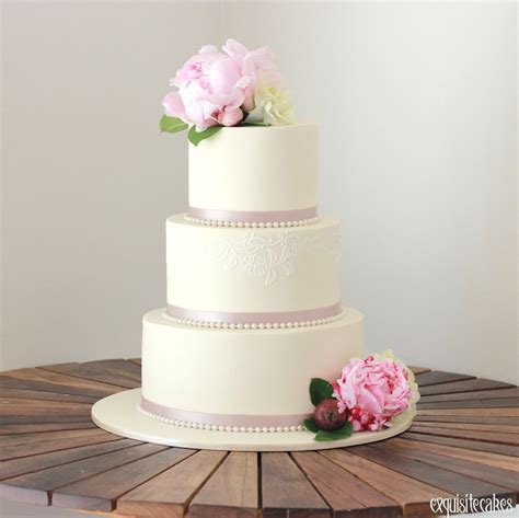 3 Wedding Cakes by Formal Wedding Cakes Exquisite Cakes Sydney