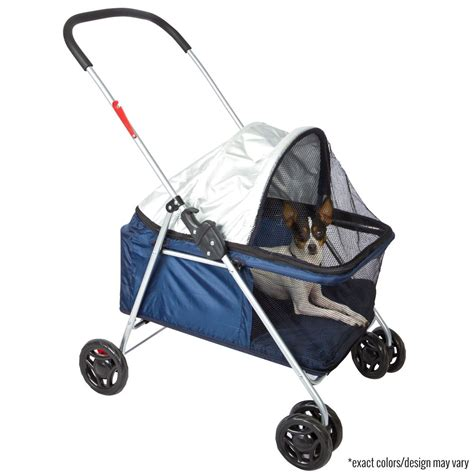 puppy strollers lucky folding pet stroller pink blue discount rs