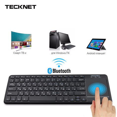 Tv Dengan Os Android mini wireless bluetooth touch russian keyboard with