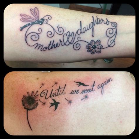 mother and daughter infinity until we meet again dandelion