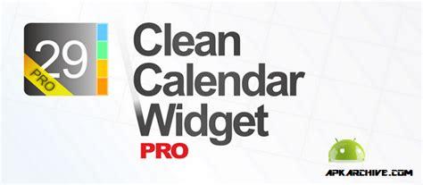 calendar widget pro apk clean calendar widget pro v5 1 apk android apps