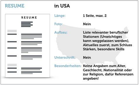 Lebenslauf Englisch Usa Vorlage Lebenslauf Auf Englisch Tipps F 252 Rs Resume Karrierebibel De