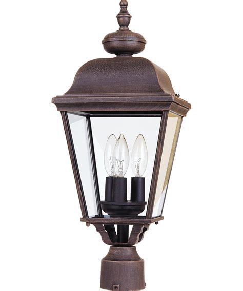 Maxim Lighting by Maxim Lighting 3008 Builder Cast 1 Light Outdoor Post L