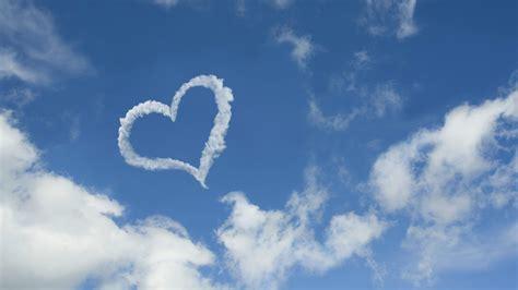 4k wallpaper of love cloud wallpaper heart love hd desktop wallpapers 4k hd