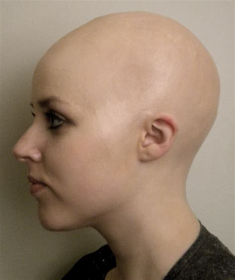 ladies bald haircut video 1000 images about bald on pinterest
