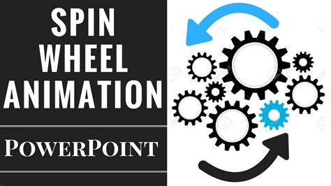 Powerpoint Spining Wheels Animation Tutorial Youtube Spinning Wheel Powerpoint
