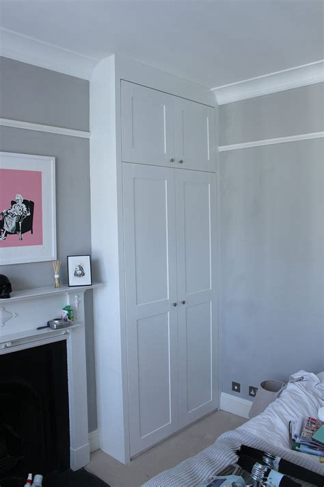 wardrobe rails and fittings b q best 25 small fitted wardrobes ideas on