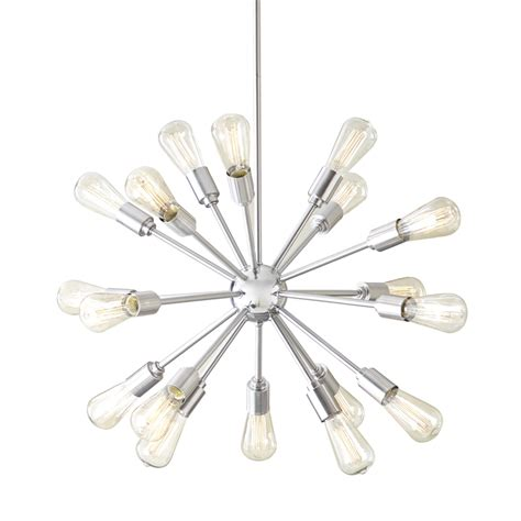 brushed nickel pendant light lowes shop style selections grayford 35 43 in 18 light brushed