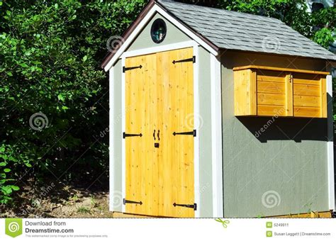 Garden Time Sheds by Small Garden Shed Stock Image Image 5249911