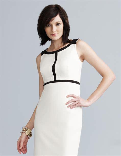 modas con blanco y negro vestidos de moda 2018 187 vestidos blanco con negro 5