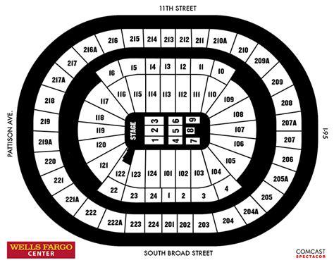 fargo center seating map seating charts fargo center