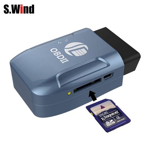 Vehicle Gps Tracker Obd2 Afv002t Promo aliexpress buy obd ii gps realtime tracker car truck vehicle mini tracking device gsm gprs