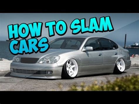 how to your in gta 5 gta 5 how to quot slam quot your cars gta 5 tips and tricks