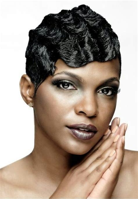 ocean waves hairstyles for black women finger waves on short african american hair google