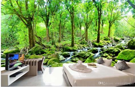 Komar Photo Wall 4522 Forest Photo Murals Wallpaper Wallart forest wall murals wallpaper peenmedia