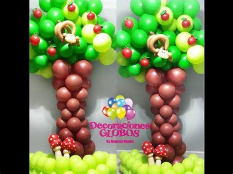 como hacer un pino de globos como hacer un 193 rbol con globos paso a paso