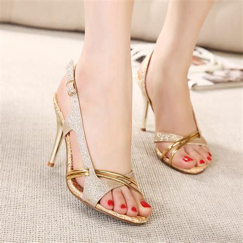 high heels with open toe 2015 sandals fashion thin heels open toe shoe
