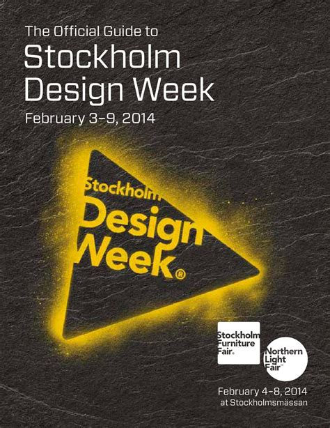 stockholm design week instagram the official guide to stockholm design week 2014 by