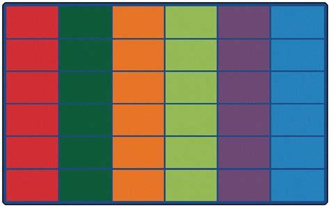 classroom rug     spaces color block rug rtr
