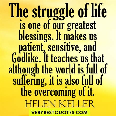 helen keller biography tagalog inspirational quote of the day the struggle of life