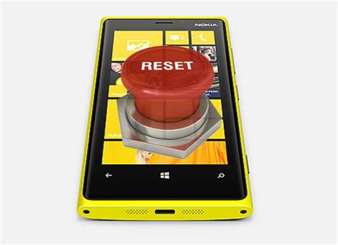 resetting nokia windows phone how to perform a soft reset or hard reset nokia lumia in