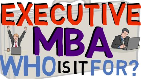 Exec Mba Vs Mba by What Is An Executive Mba Emba Vs Mba