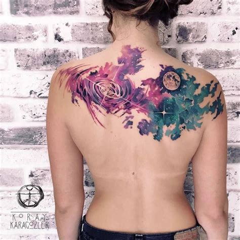 watercolor tattoo universe 25 best ideas about space tattoos on planet