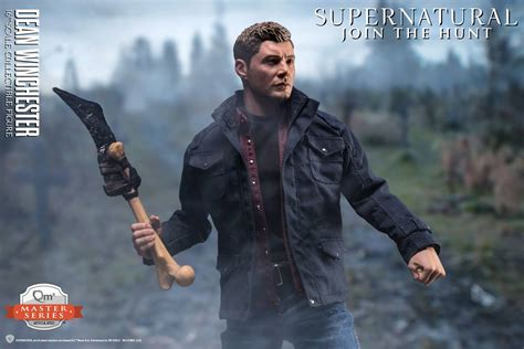 Supernatural Winchester supernatural dean winchester 1 6 scale figure by qmx the