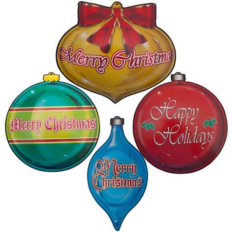 christmas ornament cutouts