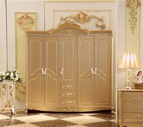 antique solid wood wardrobe design wooden bedroom furniture  doors closet cabinets  wardrobes
