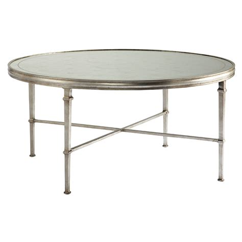 Coffee Table Silver Talbott Coffee Table Silver Luxe Home Company