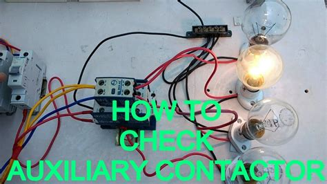 fantastic how to connect a contactor ideas electrical