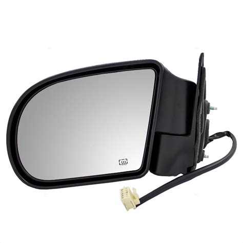 side mirror housing replacement replace 2004 isuzu ascender sideview mirror glass heated signal new pair set