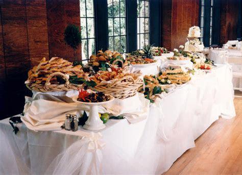 l arte del ricevere organizzare un buffet appunti di matrimonio