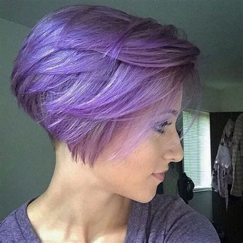 super short inverted bobs i love this super short inverted bob in purple hair